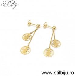 Cercei aur 2,46g SBCF2079